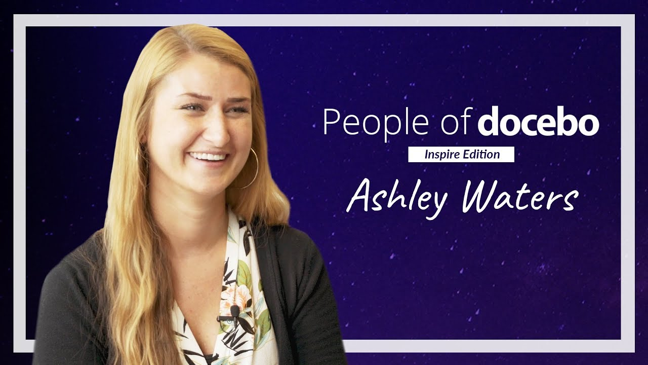 People of Docebo - Ashley Waters