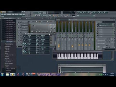 Tutorial FL Studio ( bahasa Indonesia ) Untuk Pemula 1 : mengenal FL studio