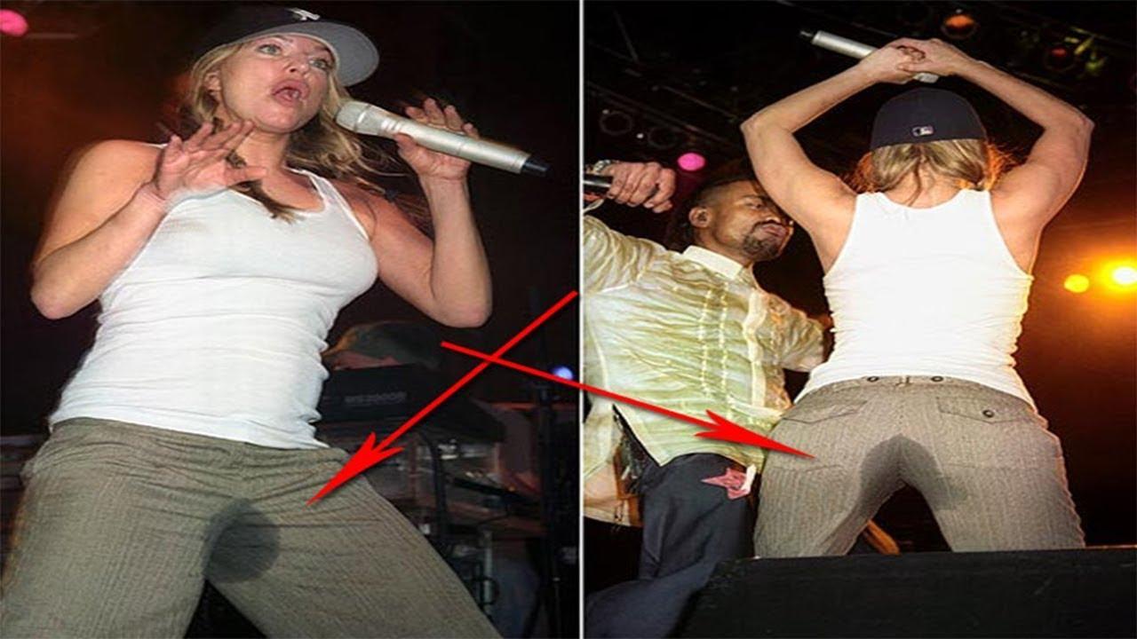 Celebrity boners on stage