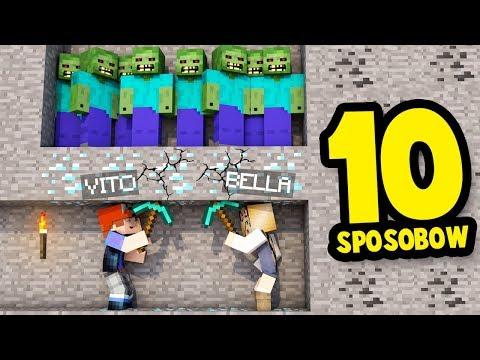 10 SPOSOBW NA MIER W MINECRAFT! | Vito i Bella