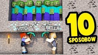 10 SPOSOBÓW NA ŚMIERĆ W MINECRAFT! | Vito i Bella