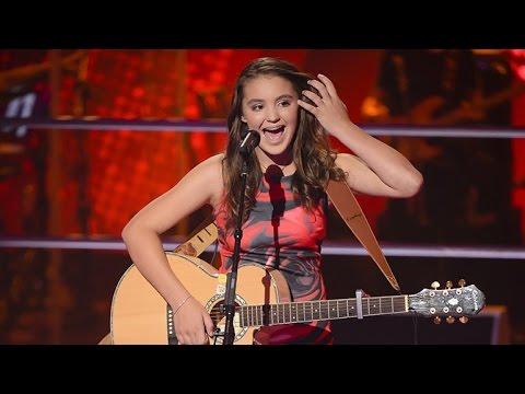 Martha sings Mountain Sound   The Voice Kids Australia 2014