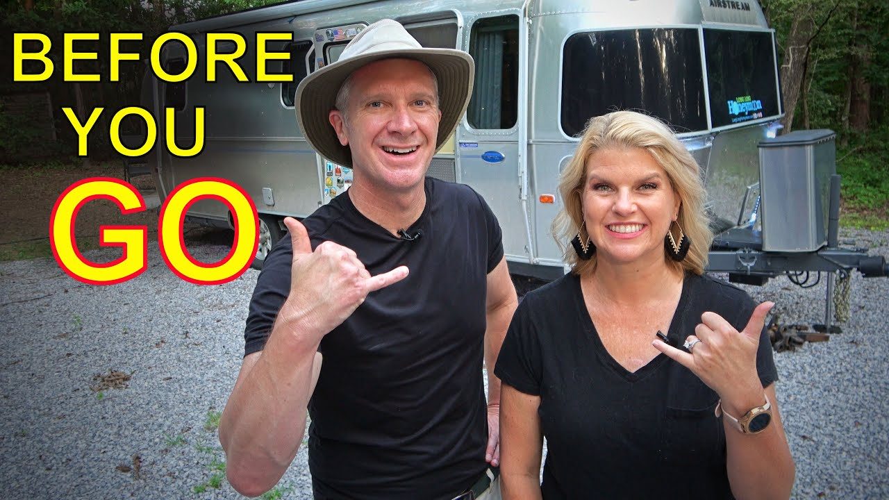 FOR BEGINNERS: RV Trip Checklist!