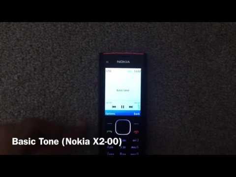 Samsung E1120 VS Nokia X2-00 - Samsung E1120 Ringtones