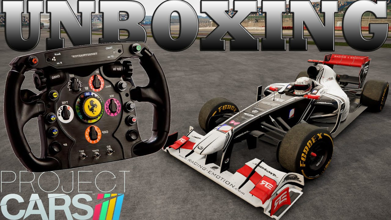 ferrari f1 wheel add on thrustmaster unboxing test. Black Bedroom Furniture Sets. Home Design Ideas