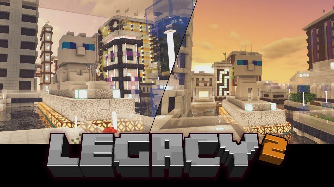 Legacy Season 2: Feline Protection on Legacy SMP