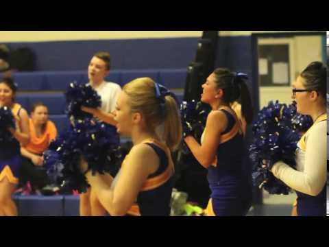 Belfast Area High School cheering