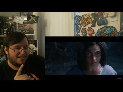 Gors Alita: Battle Angel Official Trailer Reaction