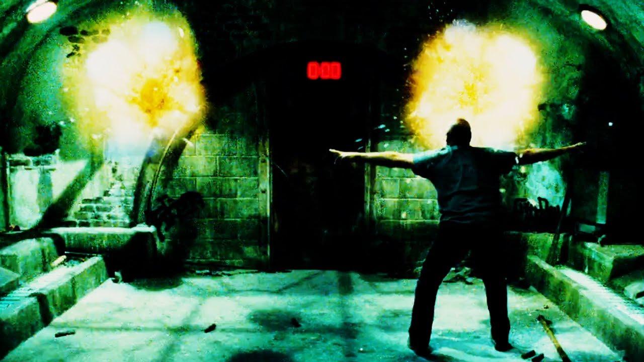 """Armadilha das bombas em Jogos Mortais 5 """"Saw V"""" 2008"""