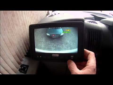 camping car camera de recul Lino - YouTube