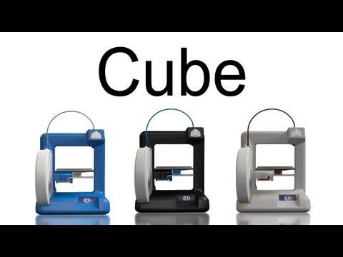 Hak5 - Cube: 3D Printer by 3D Systems - CES 2012