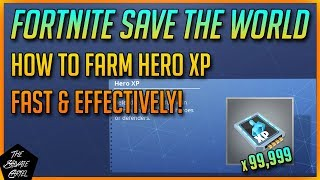 FORTNITE STW TUTORIAL: GET HERO XP FAST!