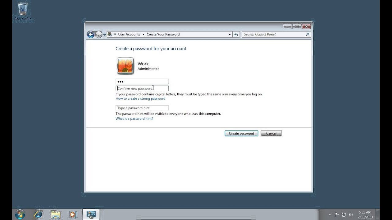 how to get admin password in windows 7