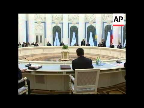 RUSSIA: YELTSIN SIGNS OIL DEAL WITH KAZAKHSTAN PRESIDENT