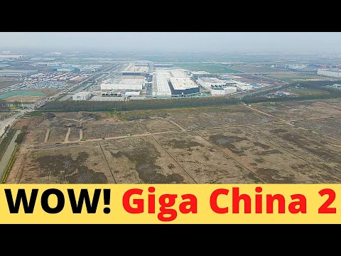 Tesla Is Building 2nd Gigafactory in China, So Far Called Factory 2
