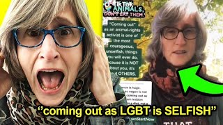 That Vegan Teacher Was CAUGHT Bullying LGBT People..