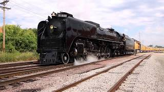 2017 College World Series UNION PACIFIC STEAM SPECIAL #844