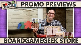 The BoardGameGeek Store - Promo Preview 2