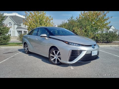 Learning About the Toyota Mirai Hydrogen Fuel Cell EV