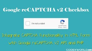 Integrate new Google reCAPTCHA Checkbox with PHP