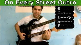 Guitar Tutorial: On Every Street Outro Riff (Dire Straits / Mark Knopfler)
