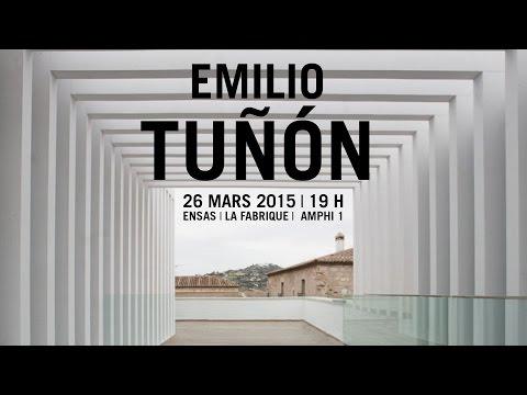 Conférence de Emilio Tuñón, architecte - Agence Mansilla + Tuñón Architectes (Madrid)