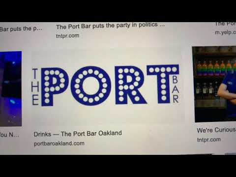 For Oakland New Year's Eve 2019 It's The Port Bar And The ImpeachMint Drink