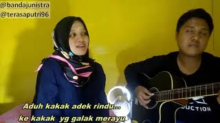 Lagu Adek Berjilbab Ungu Saling Balas - Palembang
