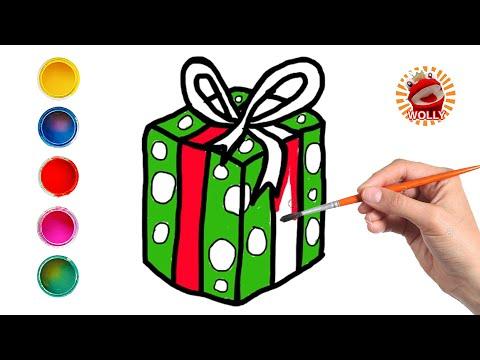 disegni-facili-per-bambini---disegnamo-insieme-un-pacco-regalo---wolly