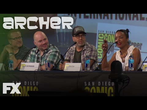 Erotic Dolphin Puppeteer: COMIC-CON 2016 | Archer| FX