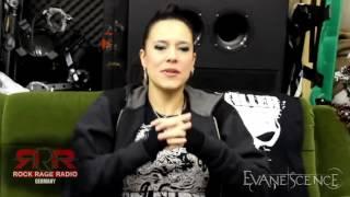 Jen Majura Interview @ Rock Rage Radio Germany (12/29/2016)
