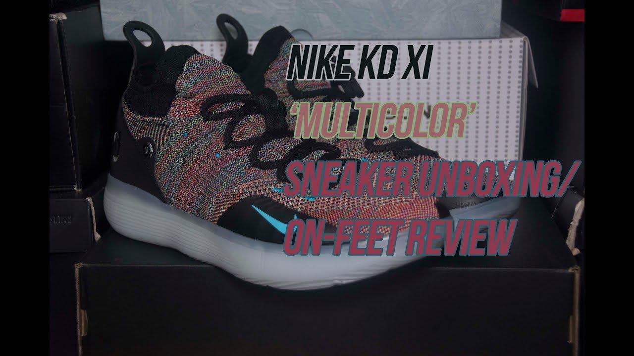 1cd60419bc73 Nike KD 11  Multicolor