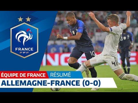 Équipe de France, Allemagne France (0-0), le résumé I FFF 2018