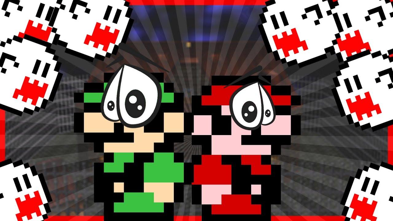 Mario and Luigi in Big Boo's Haunt