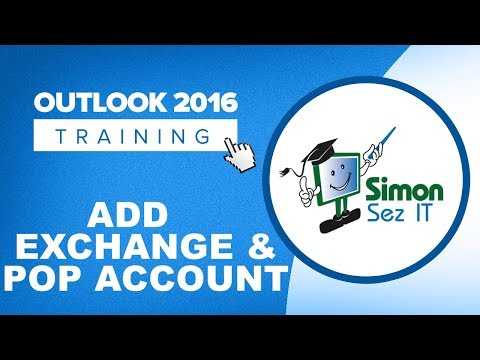 How To Add An Exchange And POP Account To Outlook 2016