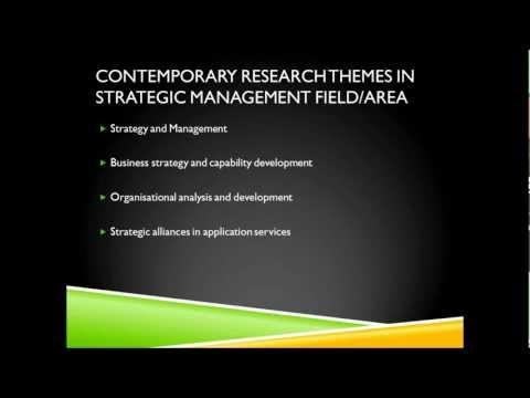 Strategic Management Dissertation Writing Techniques/Support/Training/Guidance