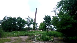 Cementownia Pieczyska - leci komin leci :)
