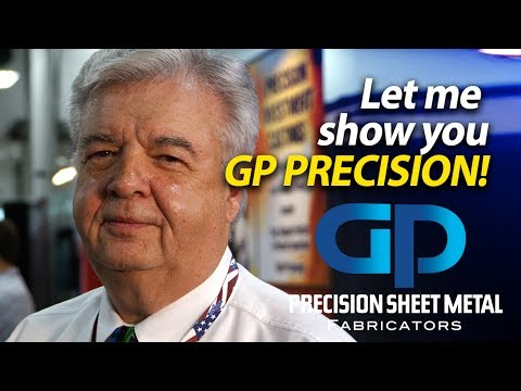 Precision Sheet Metal Fabricators - Laser Cutting - Peter Samp shows you GP Precision