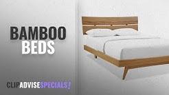 Top 10 Bamboo Beds [2018]: Azara Platform Bed in Caramelized - Queen