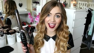 How I Curl My Hair Using Enrapture Encode Totem Hair Styler  | J4mieJohnston
