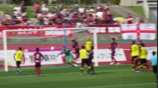 2019J2 琉球vs柏 ガブリエル選手のゴール