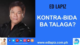 🆕Ed Lapiz - KONTRA-BIDA BA TALAGA Latest Sermon New Video REVIEW👉 Ed Lapiz Official Channel 2020