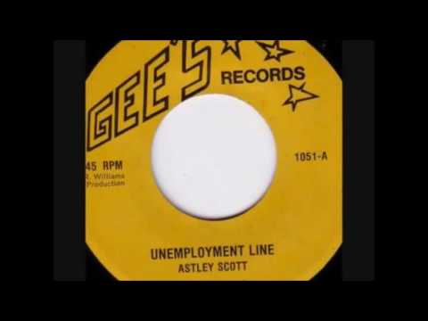 Reggae Music 632 - Astley Scott - Unemployment Line [Gee's]