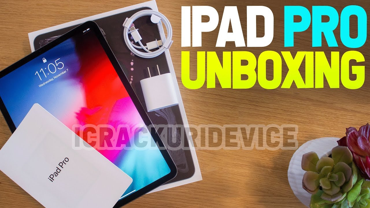 """NEW iPad Pro 11"""" (2018): Unboxing and Setup Review! - YouTube"""
