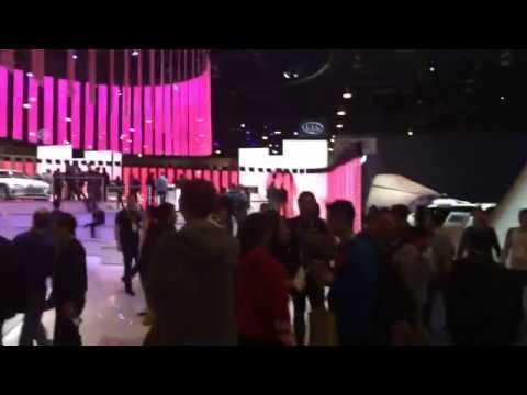 CES 2019 Las Vegas Audi Booth Sets Standard