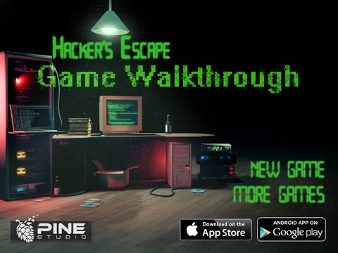 Hacker's Escape Game Walkthrough (Video)