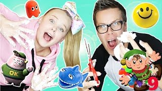 Cutting Open Kids Squishy Toys - Vlogmas Day 9
