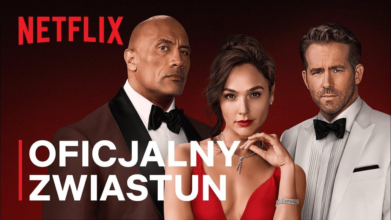 Czerwona nota | Oficjalny zwiastun | Netflix