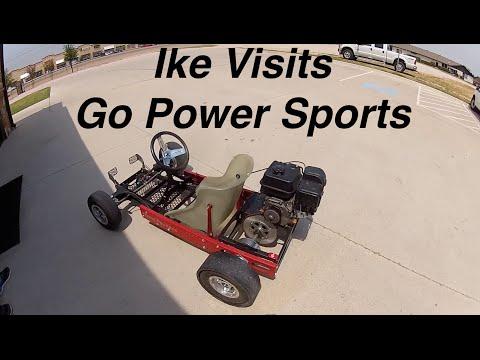 Ike Visits Go Power Sports