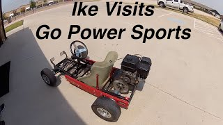 Ike Visits Go Power Sports